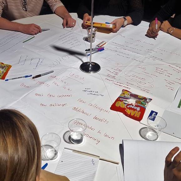 Off-Site Conferences Tabletop Facilitation