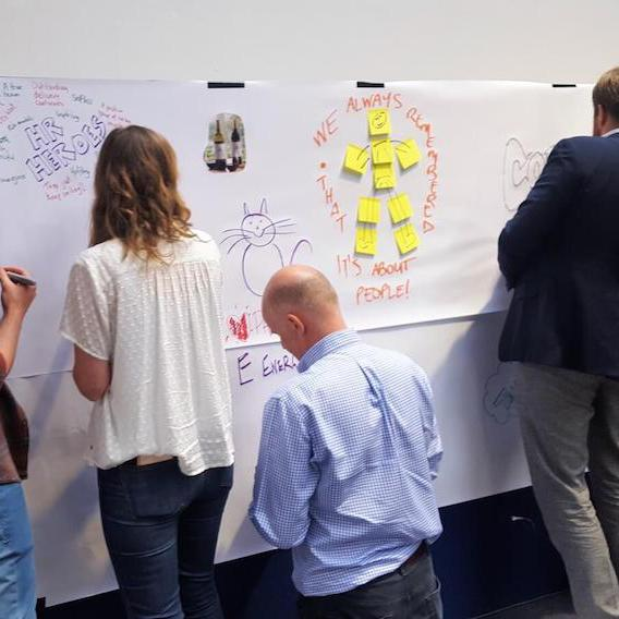 Vision Wall Progress (Off Site Conferences)